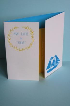 Faire part Anne Laure & Thibaut
