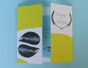 Faire-Part Hortense & Amaury