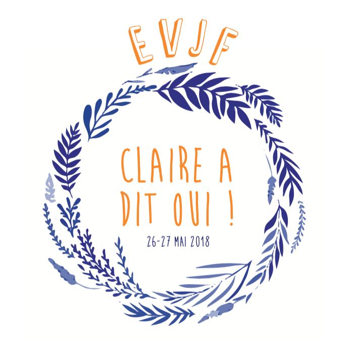 Logo EVJF Claire