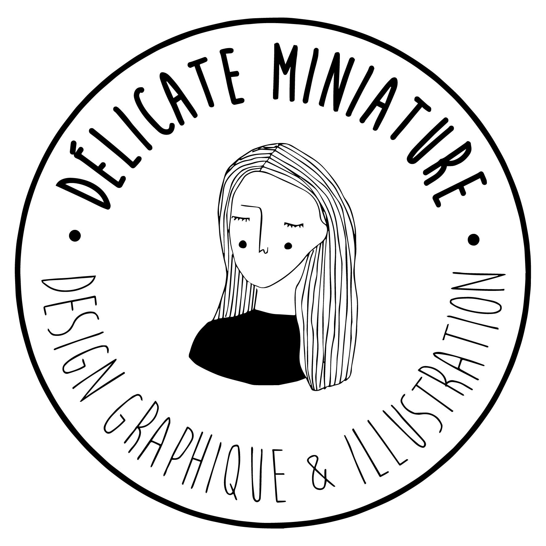 d u00e9licate miniature  u2013 design graphique et illustration sur